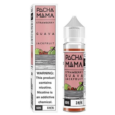 Pacha Mama Strawberry Guava Jackfruit 50/60ml